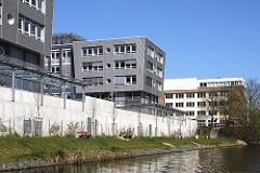 Moderne Architektur in Hamm Süd - Mittelkanal.