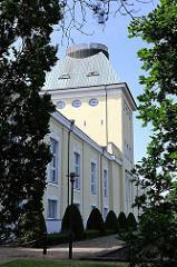 Historisches Gebäude - Altonaer Wasserwerke auf dem Baursberg. 1859 in Betrieb genommen; Filterung von Elbwasser.