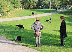 Hundeauslaufzone, Hundespielplatz  am Elbberg.