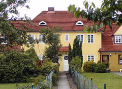 Schumacher Siedlung in Hamburg Langenhorn - Architekt Fritz Schumacher, Oberbaudirektor.