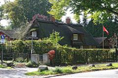Reetdachhaus in Hamburg Wohldorf Ohlstedt - Alte Dorfstrasse