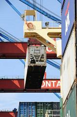 Containerladung loeschen - HHLA Terminal Altenwerder.