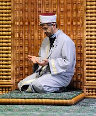 Imam Ibrahim Sökmen - Gebetsnische, Qibla-Wand.