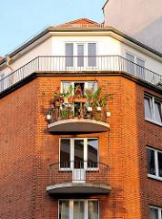 Balkons auf Hamburg St. Pauli - Fotos aus dem Stadttel.