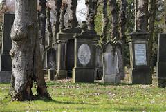 Jüdischer Friedhof - Bornkamkampsweg, Hamburg Bahrenfeld