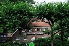 Hamburger Achitekturgeschichte - Gebäude im Stadtpark - Architekt Fritz SChumacher.