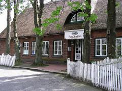 Restaurant im Reetdachhaus - Tangstedter Landstrasse.