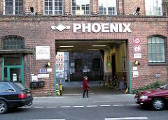Phoenix - Werk Eingang Stadtteil Hamburg Harburg - Wilstdorfer STrasse