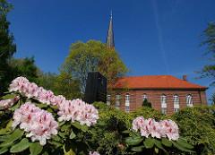 St. Gertrud Kirche Stadtteil Altenwerder Bezirk Hamburg Harburg