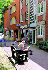 Kiosk an der Grelckstrasse in Hamburg Lokstedt - Fotos aus den Hamburger Stadtteilen.