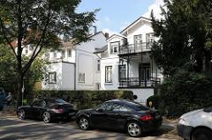 Einzelhäuser und Vorstadtvilla - Bismarckstrasse, Hoheluft West.