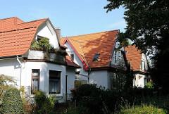 Einzelhäuser am Bindfeldweg - Wohnhäuser in Hamburg Niendorf, Bezirk Hamburg Eimsbüttel