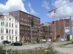 Bilder Harburger Industriearchitektur - Schellerdamm, Veriataskai. (2001)