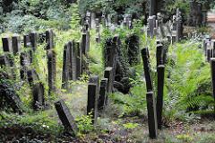 Jüdischer Friedhof Ilandkoppel - Grabsteine.
