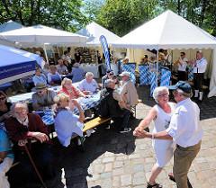 Hafenfest Harburg - Bayrische Musikkapelle.