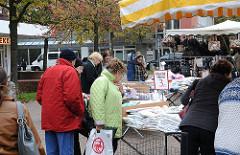 Wochenmarkt in Eidelstedt beim Einkaufscenter
