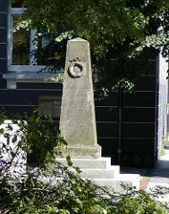 Erinnerungsstele Georg Andreas Knäuer - Andreasbrunnen