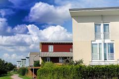 Siedlung Neuallermöhe - Architekturfotos aus den Stadtteilen Hamburgs, Bilder aus Hamburg Neuallermöhe.
