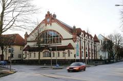 Hamburgs historische Architektur Bilder aus den Stadtteilen Barmbek Süd Bartholomaeusbad