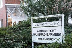 Bilder Familiengericht Barmbek Süd, Amtsgericht Hamburg Barmbek