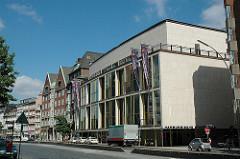 Hamburger Staatsoper an der Dammtorstrasse.
