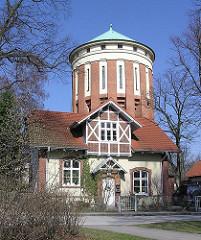 Historische Gebäude, Wasserturm Gelände Klinikum Nord.