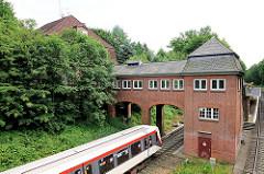 Bahnhof Buckhorn, Stadtteil Hamburg Volksdorf, erbaut 1925.