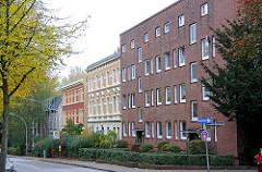 Wohnblocks Gründerzeitarchitektur + Backsteinarchitektur Kapellenstrasse