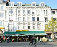 Historismus-Architektur Grosse Bergstrasse Bezirk Altona, Stadtteil Altona Altstadt.