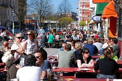 Hamburg Schanzenviertel - Szeneviertel der Hansestadt.