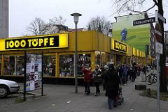 ehem. Geschäft 1000 Töpfe in der Langen Reihe von Hamburg St. Georg. (2009)