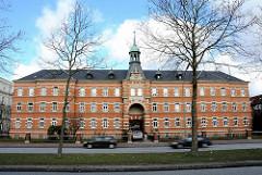 Hiobs Hospital Buergerweide - Wohnstift für Frauen. Das Stiftsgebäude steht unter Denkmalschutz.