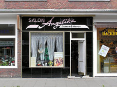 Alter Friseursalon Angelika im Hanssensweg in Hamburg Winterhude - Jarrestadt (ca. 2005)