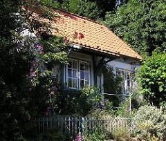 Wohnen in Hamburg Blankenese - Haus mit Garten im Blankeneser Treppenviertel.