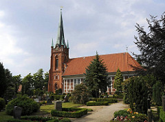 Moorfleeter Fachwerkkirche St. Nikolaikirche