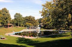 Duvenstedter Freibad im Herbst