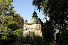 Mausoleum in Hamburg Niendorf, Alter Friedhof.
