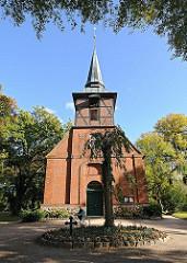Bezirk Hamburg Wandsbek Stadtteil Hamburg Bergsted, historische Berstedter Kirche