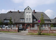 Alsterkrugchaussee Feuerwache Architekt Fritz Schumacher Oberbaudirektor
