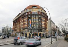 Architektur in Hamburg - Gewerbegebäude am Hoegerdamm.
