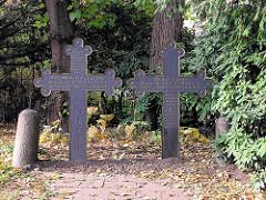 Grab von Rebekka und Matthias Claudius in Hamburg Wandsbek.