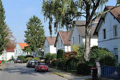 Hamburger Wohngebiete - Elbvororte Hamburgs - Einzelhäuser der Jahrhundertwende.