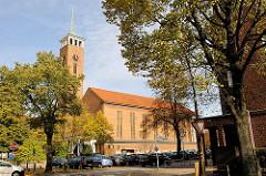 Frohbotschaftskirche in Hamburg Dulsberg - erbaut 1935 / Architekt Friedrich Dyrssen.