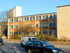 Leerstehendes Schulgebäude in Hamburg St. Georg - Abriss geplant; Rückbau in Planung.