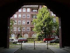 Hamburg Dulsberg Wohnungsbau 1920er Jahre, Toreinfahrt