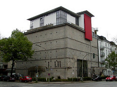 Bunker II. Weltkrieg - Hamburg Eimsbüttel - Umbau zum Büro- und Wohngebäude.