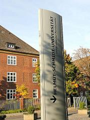 Helmut Schmidt Universität - Bundeswehruniversität Hamburg Jenfeld.