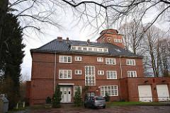 Altes Rathaus von Wohldorf Ohlstedt - Bilder Hamburger Backsteinarchitektur .