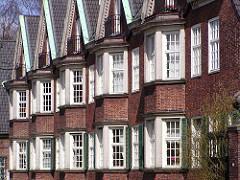 Fensterfront Johanniskloster Heilwigstrasse Hamburg Eppendorf.