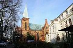 Christophoruskirche beim Helenenhospiz Hamburger Stadtteil Altona-Nord